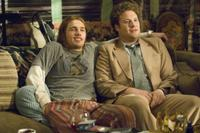 James Franco as Saul Silver and Seth Rogen as Dale Denton in