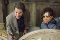 Gary Cole as Ted Jones and Rosie Perez as Carol in