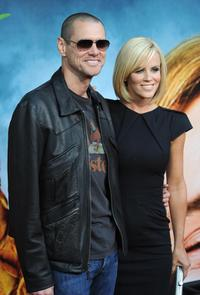 Jim Carrey and Jenny McCarthy at the after party of the California premiere of