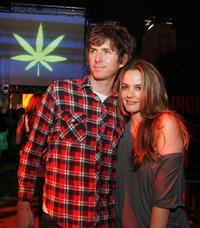 Christopher Jarecki and Alicia Silverstone at the after party of the California premiere of