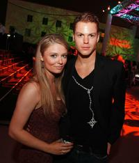 Kendra Konopaski and Arthur Napiontek at the after party of the California premiere of