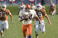 Rob Brown as college football hero Ernie Davis in