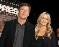 Dennis Quaid and his wife Kimberly at the California premiere of