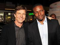 Dennis Quaid and Rob Brown at the California premiere of