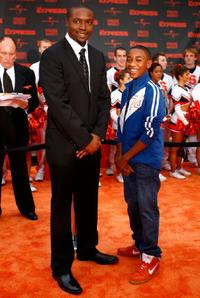 Rob Brown and Justin Martin at the New York premiere of
