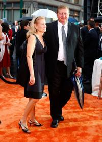 John Desko and his Wife at the New York premiere of