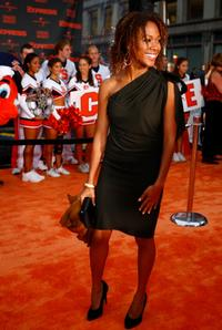 Linara Washington at the New York premiere of