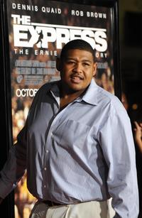 Omar Benson Miller at the California premiere of