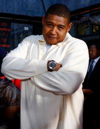 Omar Benson Miller at the New York premiere of