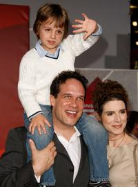 Diedrich Bader and Guests at the California premiere of