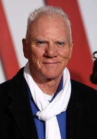 Malcolm McDowell at the California premiere of