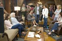 Rich Sickler, Mary Steenburgen, Betty White, Sandra Bullock, Ryan Reynolds, Anne Fletcher, Malin Akerman and Alex Kurtzman in
