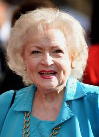 Betty White at the California premiere of