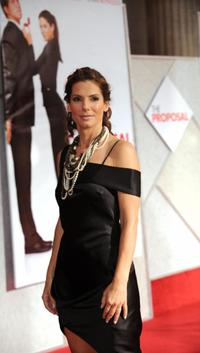 Sandra Bullock at the California premiere of