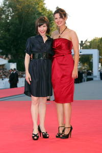 Actresses Sally Hawkins and Hayley Atwell at the