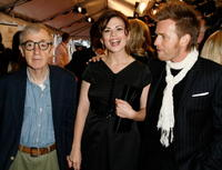 Director Woody Allen, actress Hayley Atwell and actor Ewan McGregor at the