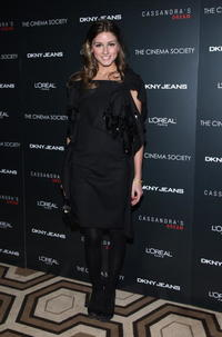 Olivia Palmero at the New York screening of
