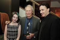 Clint Eastwood, John Cusack and Shelan O'Keefe (from the film) at the