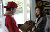 Sean Astin as Kent Stock and Rachael Leigh Cook as Polly Hudson in