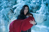 Jennifer Connelly as Virginia Gamely and Ripley Sobo as Abby in