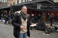 Director Akiva Goldsman on the set of