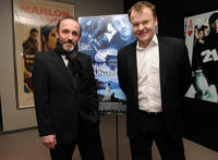 Actor Karl Markovics and director Stefan Ruzowitzky at a N.Y. screening of
