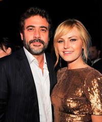 Jeffrey Dean Morgan and Malin Akerman at the after party of the California premiere of