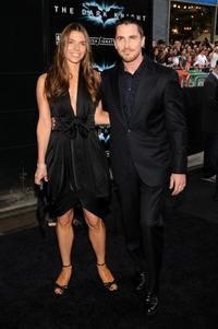 Christian Bale and Guest at the New York premiere of