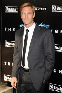 Aaron Eckhart at the New York premiere of