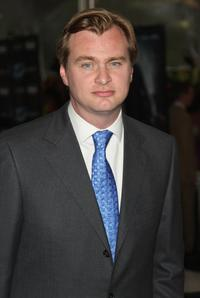 Director Christopher Nolan at the New York premiere of