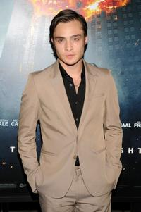 Ed Westwick at the New York premiere of