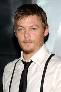 Norman Reedus at the New York premiere of