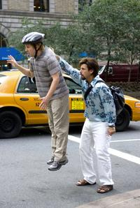 Nick Swardson as Michael and Adam Sandler as Zohan in