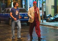 Adam Sandler as Zohan and John Turturro as Phantom in
