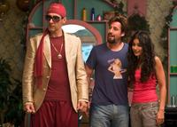 John Turturro as Phantom, Adam Sandler as Zohan and Emmanuelle Chriqui as Dalia in
