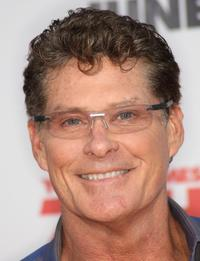 David Hasselhoff at the California premiere of