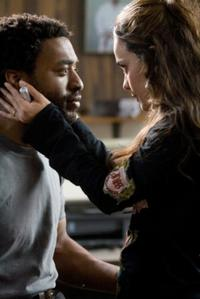 Chiwetel Ejiofor as Mike Terry and Alice Braga as Sondra Terry in