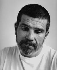 Director David Mamet on the set of