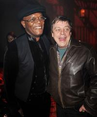 Samuel L. Jackson and Mark Hamill at the after party of the California premiere of