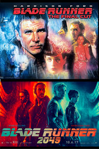 Blade Runner: The Final Cut Double Feature poster art