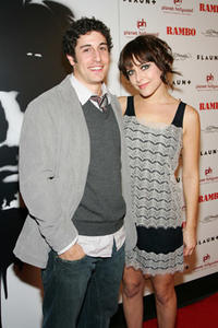 Actors Jason Biggs and Jenny Mollen at the Las Vegas premiere of