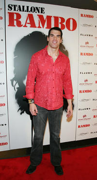 Actor Brandon Molale at the Las Vegas premiere of