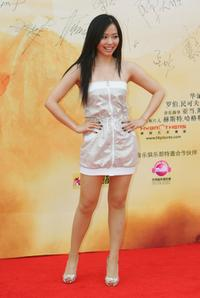 Zhang Liangying at the world premiere of