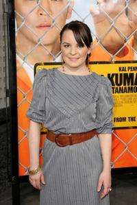 Jenna von Oy at the California premiere of
