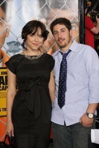 Jenny Mollen and Jason Biggs at the California premiere of