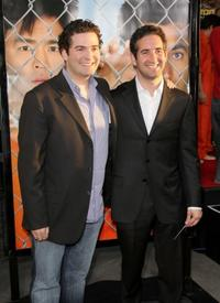 Jon Hurwitz and Hayden Schlossberg at the California premiere of