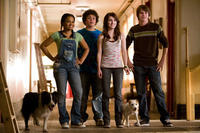 Kyla Pratt, Troy Gentile, Emma Roberts and Johnny Simmons in