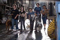 Troy Gentile, Emma Roberts, Jake T. Austin, Johnny Simmons and Kyla Pratt in