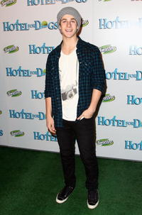 David Henrie at the California premiere of