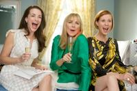 Kristin Davis as Charlotte York-Goldenblatt, Kim Cattrall as Samantha Jones and Cynthia Nixon as Miranda Hobbes in